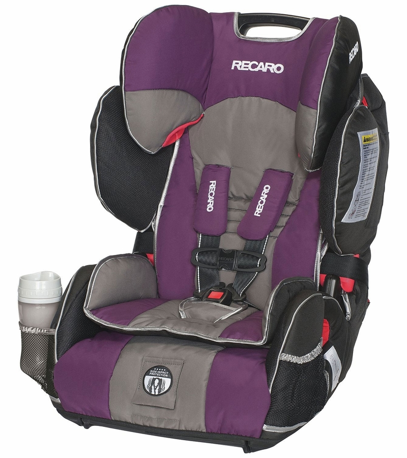 recaro performance sport combination harness to booster car seat plum. Black Bedroom Furniture Sets. Home Design Ideas