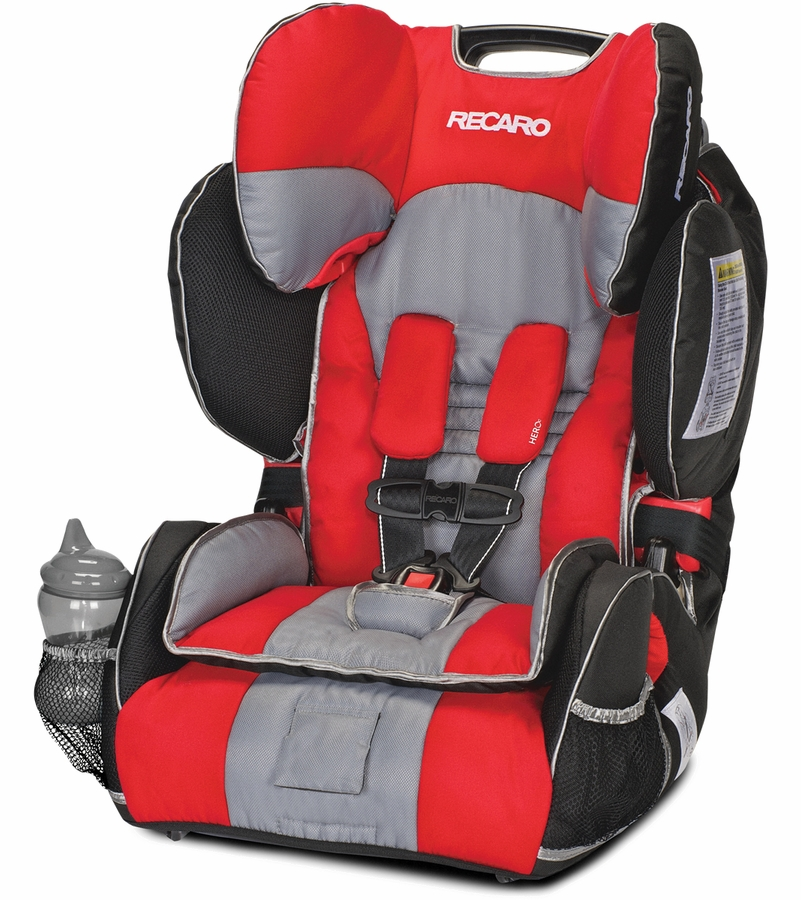 RECARO Performance SPORT Combination Harness To Booster Car Seat   Redd