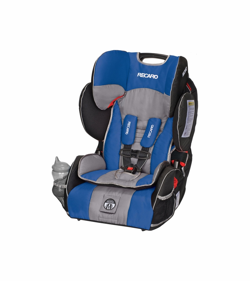 RECARO Performance SPORT Combination Harness to Booster Car Seat  Sapphire