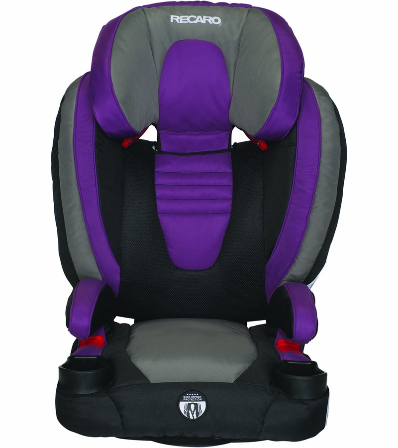 recaro probooster xl car seat violet. Black Bedroom Furniture Sets. Home Design Ideas