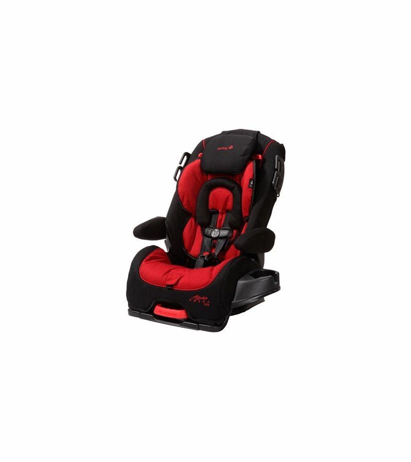 Safety 1st Alpha Omega Elite Convertible Car Seat in Red/Black