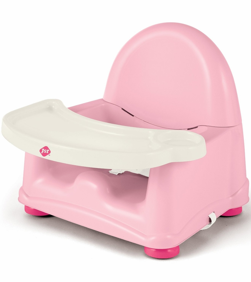 safety 1st easy care swing tray booster seat pink. Black Bedroom Furniture Sets. Home Design Ideas