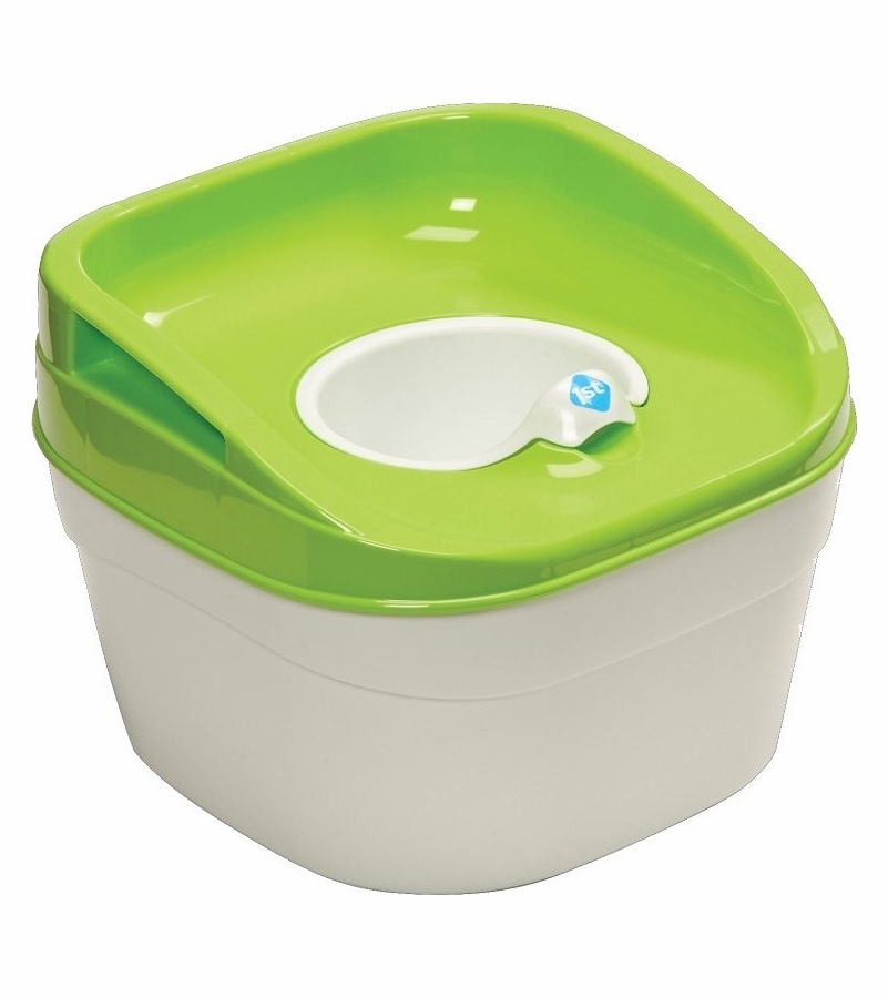 Safety 1st Try! Potty Trainer & Step Stool - Green