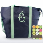 Sage Spoonfuls Sage Mommy Tote + Pocket Guide