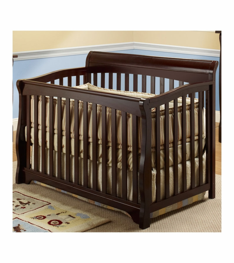 and detail coconut crib mattress item espresso drawer in kids baby with