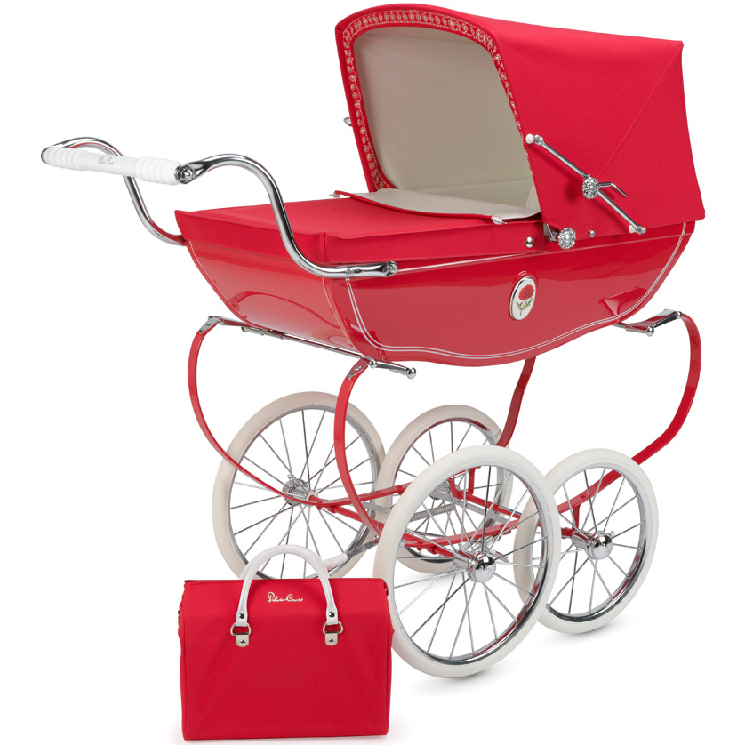 Silver Cross Chatsworth Toy Doll Pram Poppy