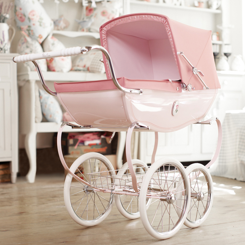 silver cross chatsworth toy doll pram rose. Black Bedroom Furniture Sets. Home Design Ideas