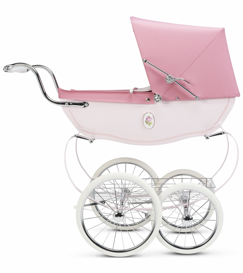 Silver Cross Chatsworth Toy Doll Pram Rose