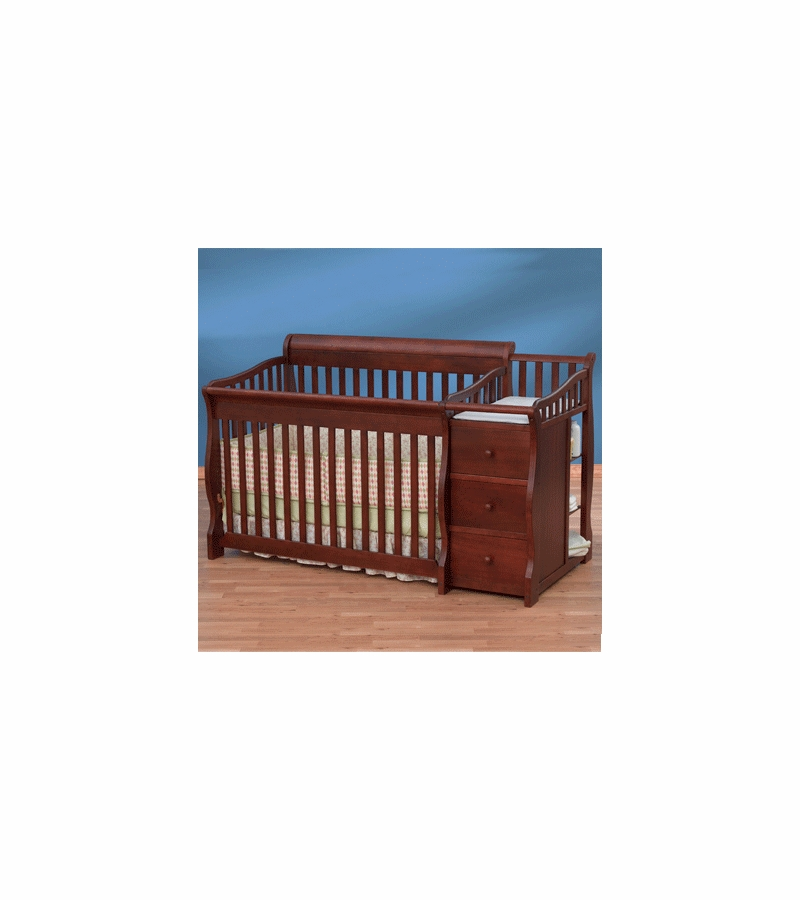 simplicity crib n changer combo ellis converible 4in1 crib in cherry rh albeebaby com Simplicity Mower Manual Sewing Machine Manual