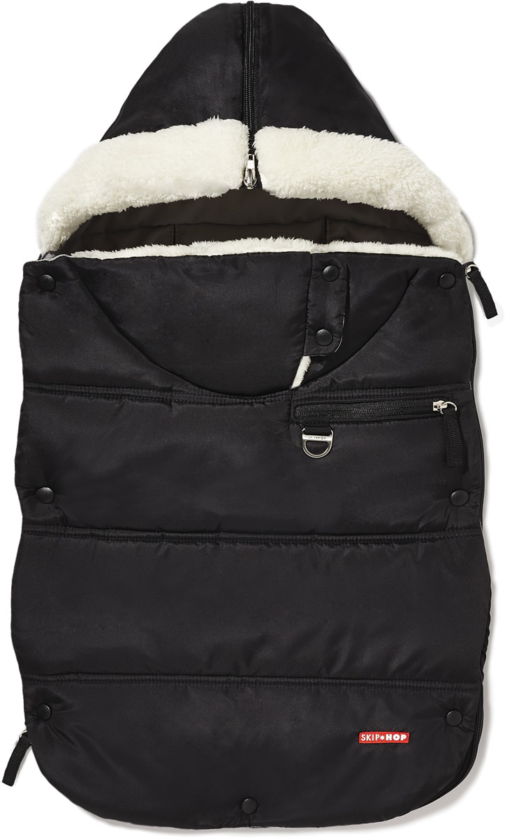 Skip Hop 3 Season Footmuff, Toddler - Black