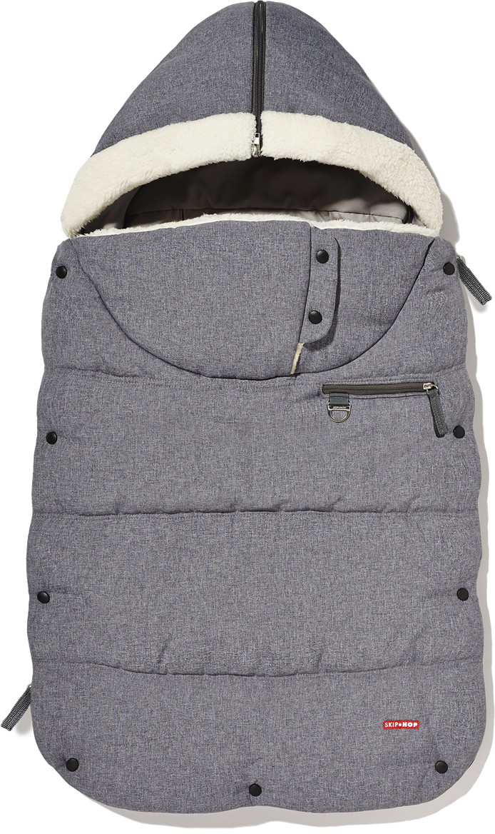 Skip Hop 3 Season Footmuff, Toddler - Heather Gray