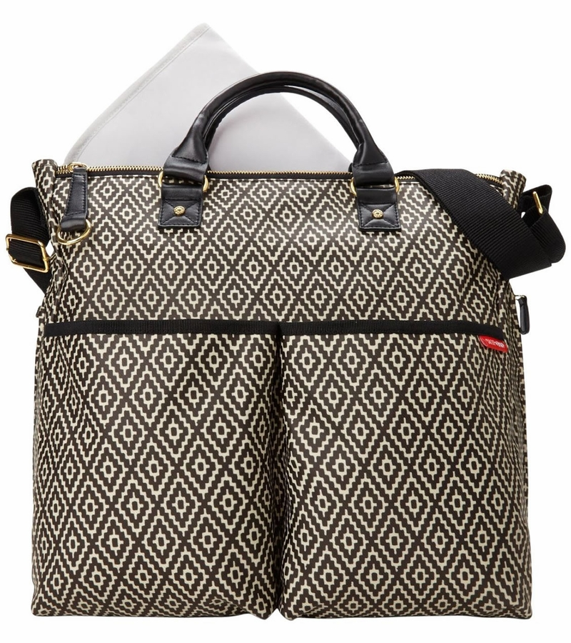skip hop duo special edition diaper bag in aztec. Black Bedroom Furniture Sets. Home Design Ideas
