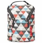 Skip Hop Grab & Go Double Bottle Bag - Triangles