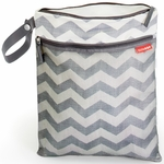 Skip Hop Grab & Go Wet/Dry Bag - Chevron
