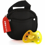 Skip Hop Pacifier Pocket - Black