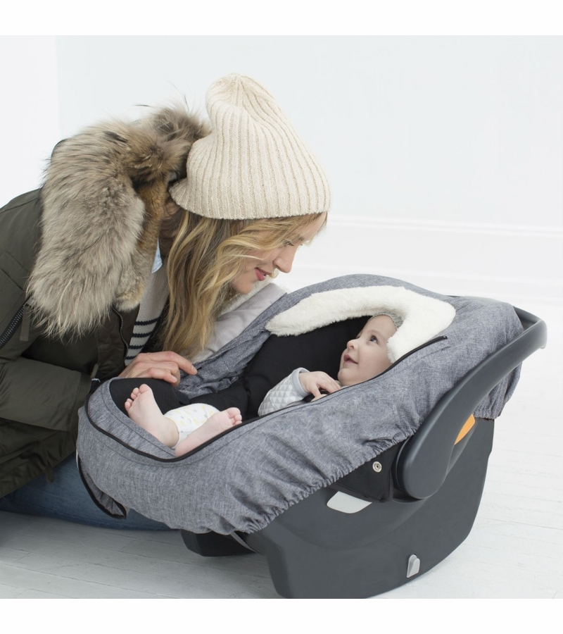 Skip Hop Stroll And Go Car Seat Cover Heather
