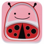 Skip Hop Zoo Divided Plate in�Ladybug