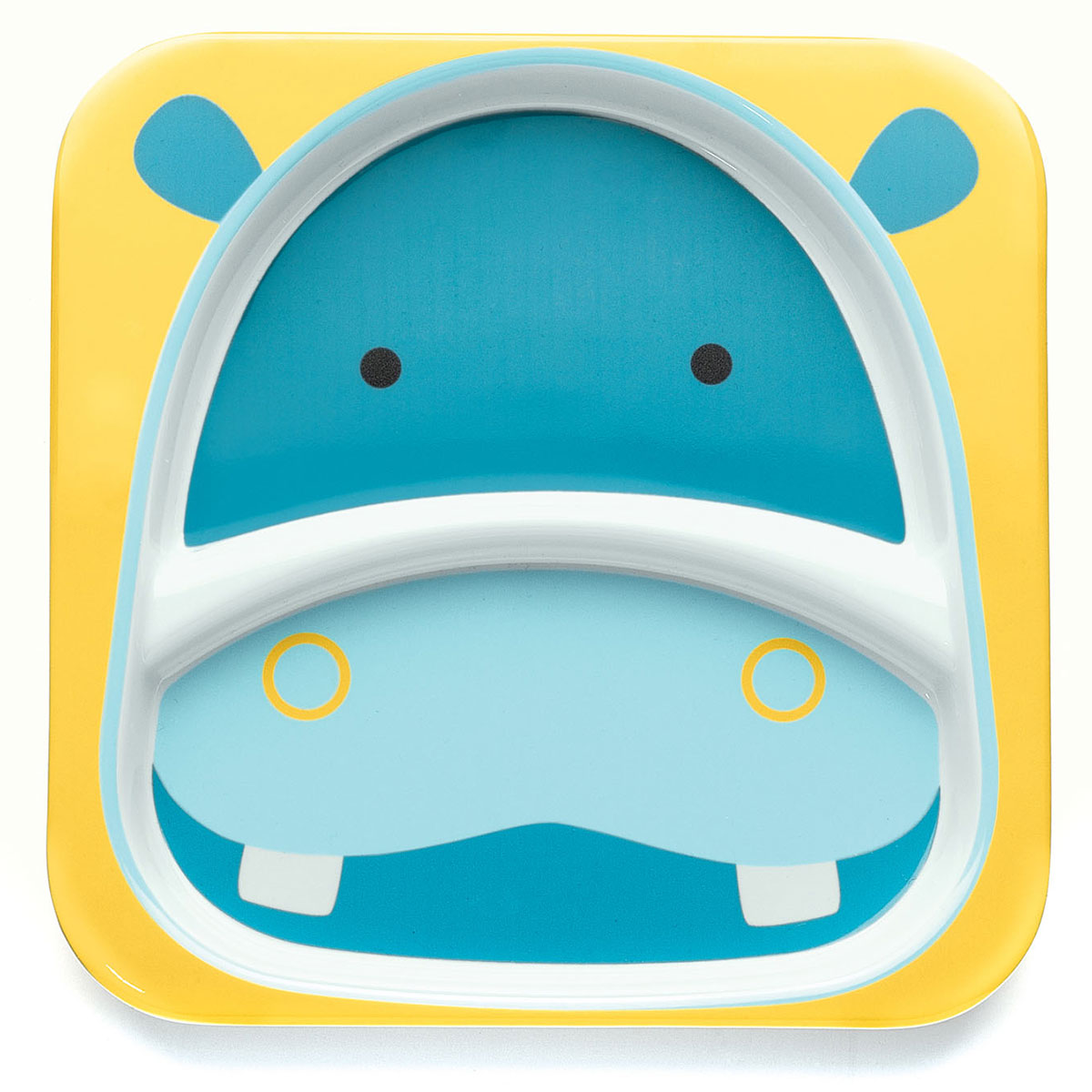 Skip Hop ZOO Divided Plate in Hippo