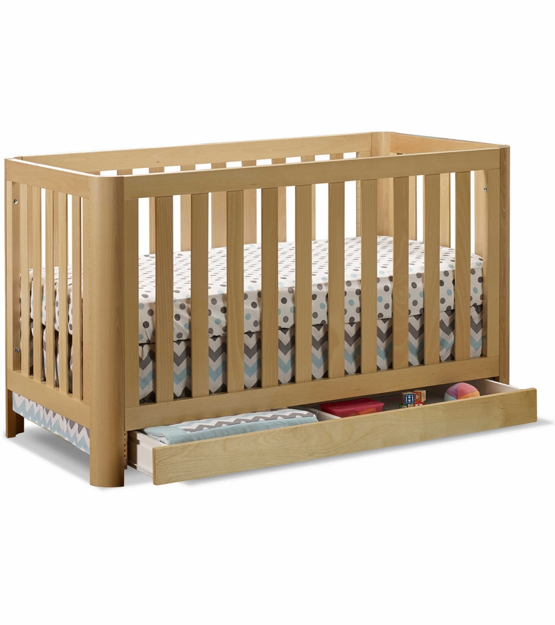 Sorelle cortina 3 in 1 convertible crib natural for Child craft soho 4 in 1 convertible crib in natural