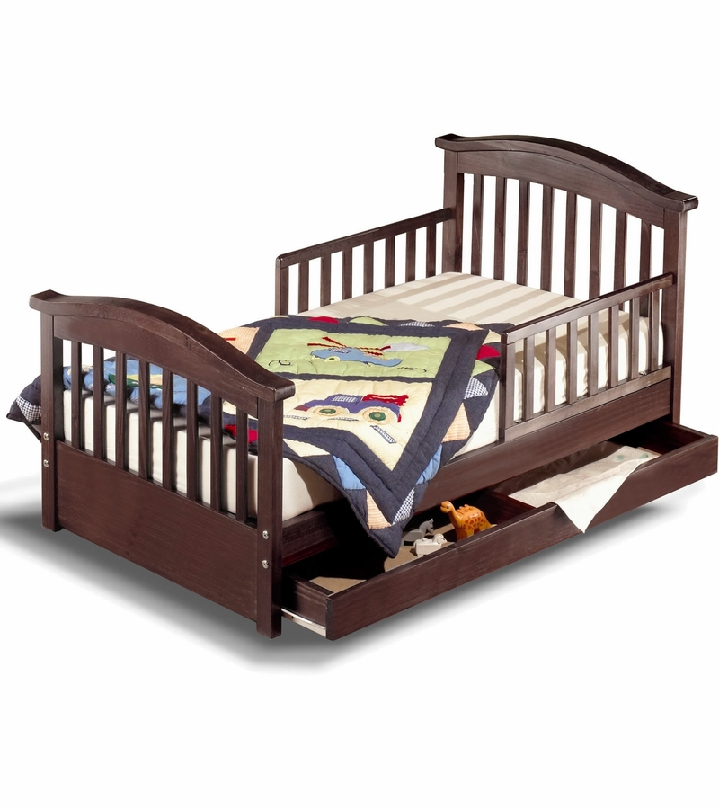 Frene Espresso Toddler Bed 1b Childern