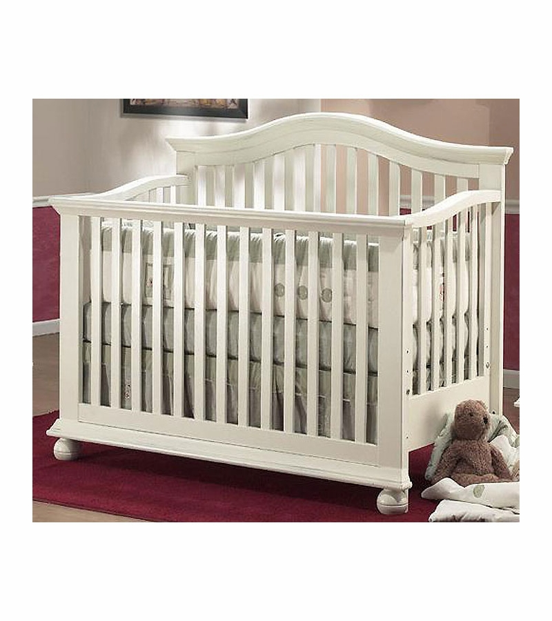 Sorelle Vista 3 Piece Nursery Set In French White Crib