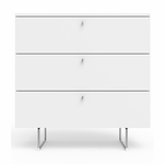 "Spot On Square Alto Dresser 34"" - White"