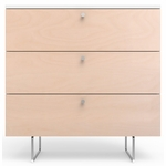 "Spot On Square Alto Dresser 34"" - White/Birch"