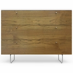"Spot On Square Alto Dresser 45"" - White/Walnut"