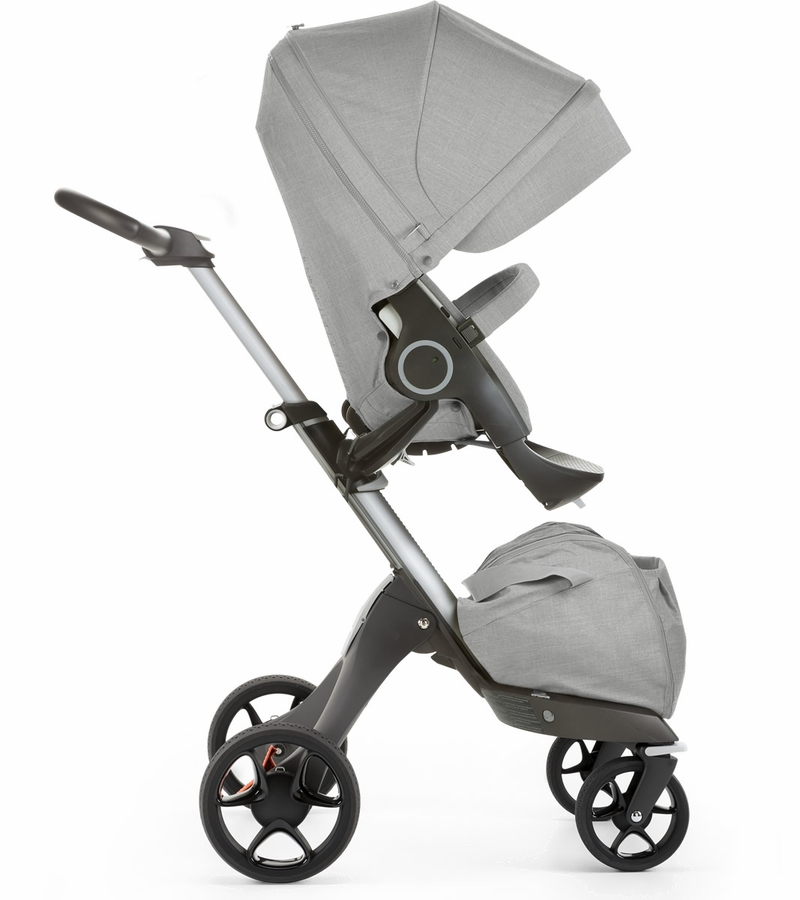 stokke 2017 xplory stroller grey melange. Black Bedroom Furniture Sets. Home Design Ideas