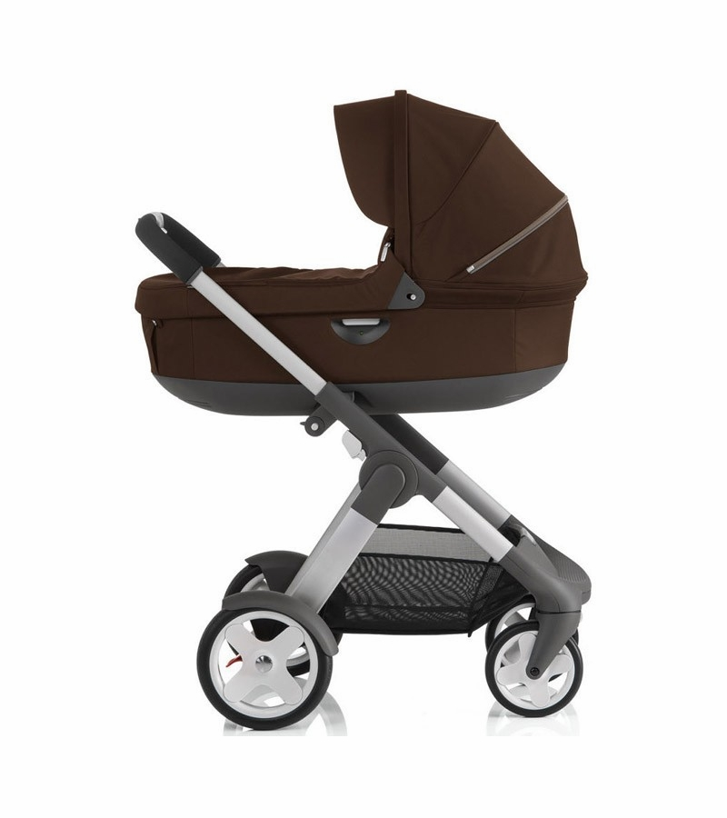 stokke crusi trailz carrycot brown. Black Bedroom Furniture Sets. Home Design Ideas