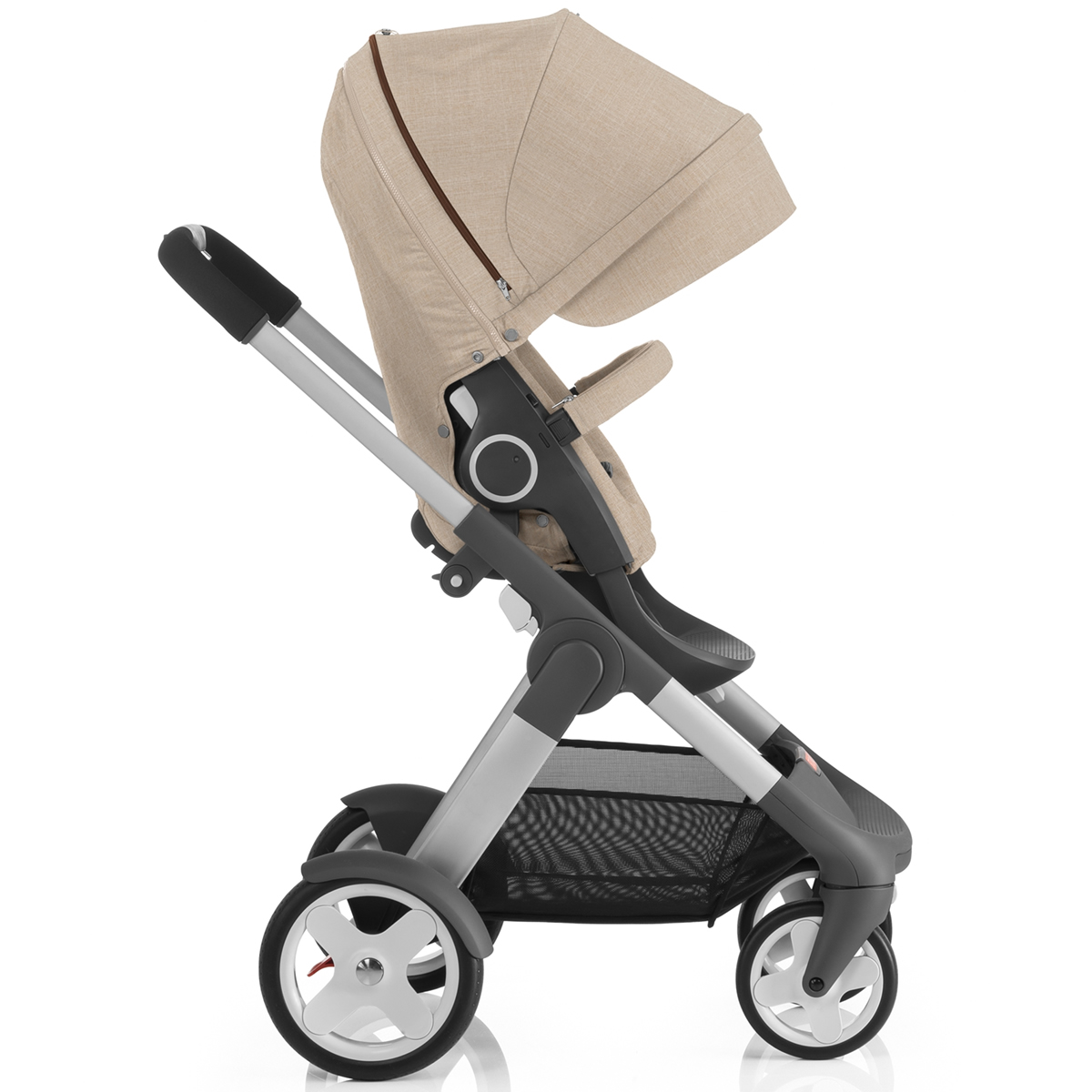 stokke crusi stroller beige melange. Black Bedroom Furniture Sets. Home Design Ideas