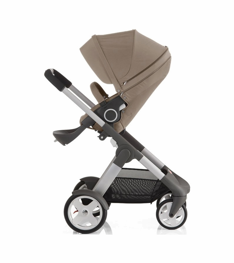 stokke crusi stroller brown. Black Bedroom Furniture Sets. Home Design Ideas