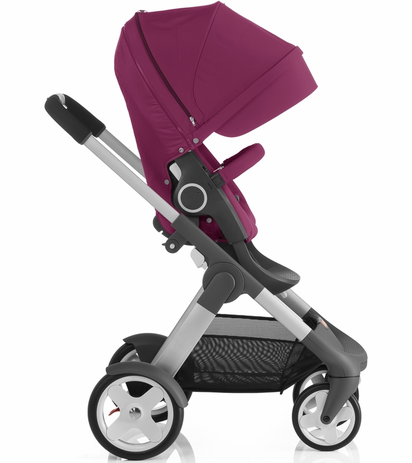 stokke crusi stroller purple. Black Bedroom Furniture Sets. Home Design Ideas