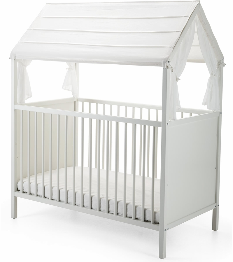stokke home crib roof white