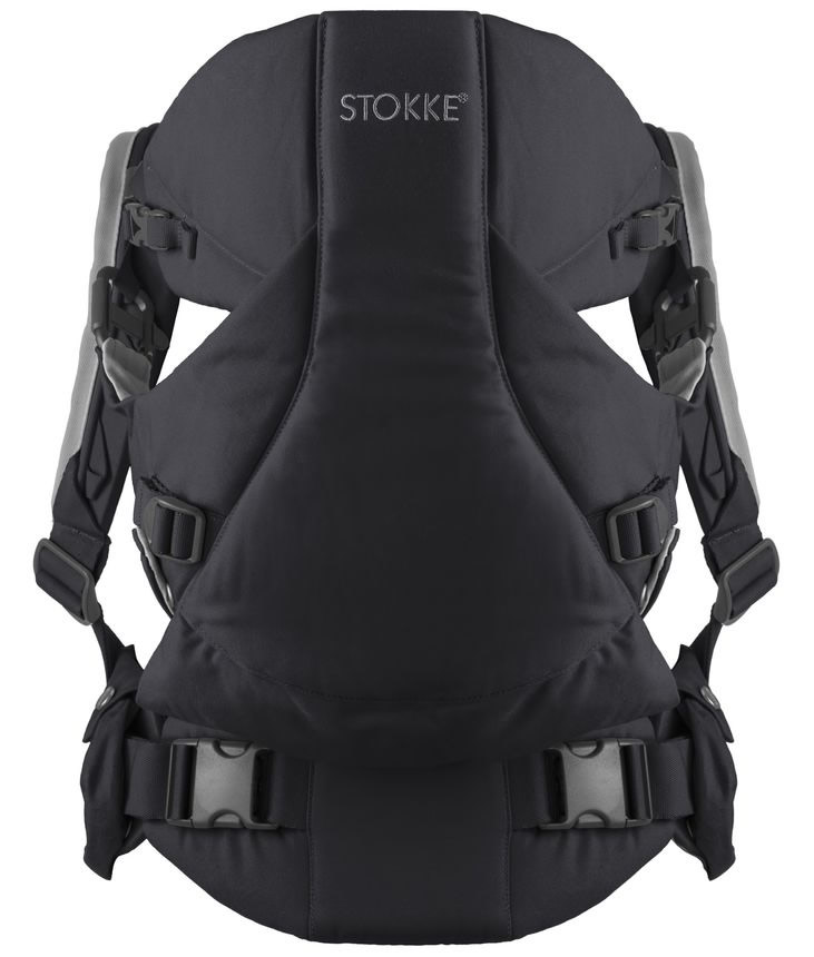 Stokke MyCarrier 3-in-1 Infant Carrier - Black