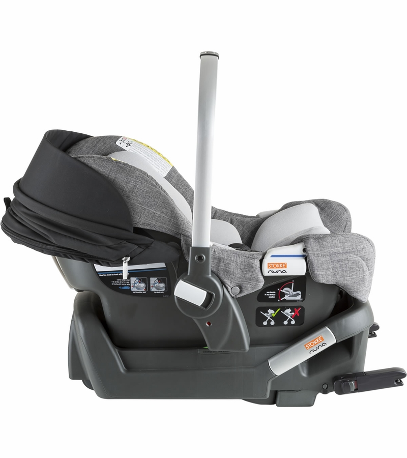 Stokke Pipa Infant Car Seat by Nuna - Black / Black Melange - D