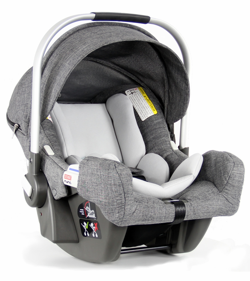 stokke pipa infant car seat by nuna black melange. Black Bedroom Furniture Sets. Home Design Ideas