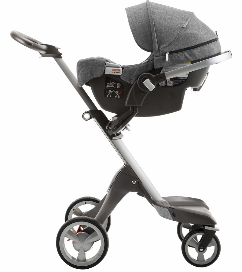 Stokke Pipa By Nuna Car Seat Black Melange