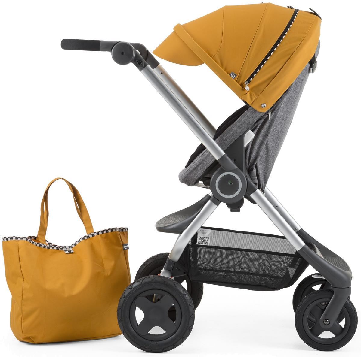 Stokke Scoot Style Kit - Racing Yellow
