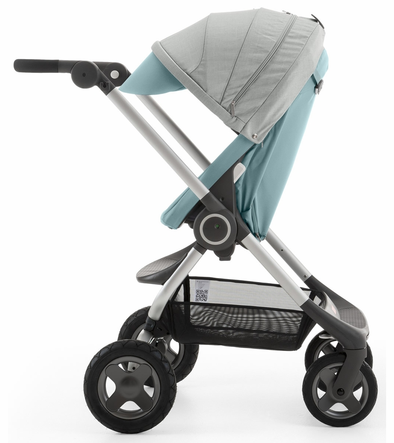 stokke scoot v2 stroller aqua blue. Black Bedroom Furniture Sets. Home Design Ideas