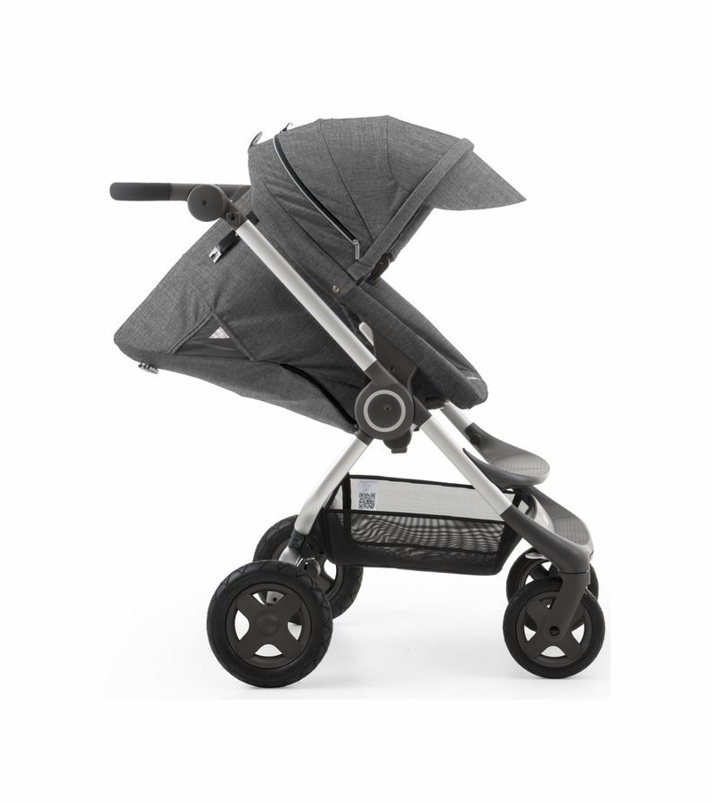 stokke scoot v2 stroller black melange. Black Bedroom Furniture Sets. Home Design Ideas