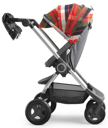 Stokke Scoot Winter Kit - Flannel Red