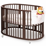 Stokke Sleepi Crib - Walnut