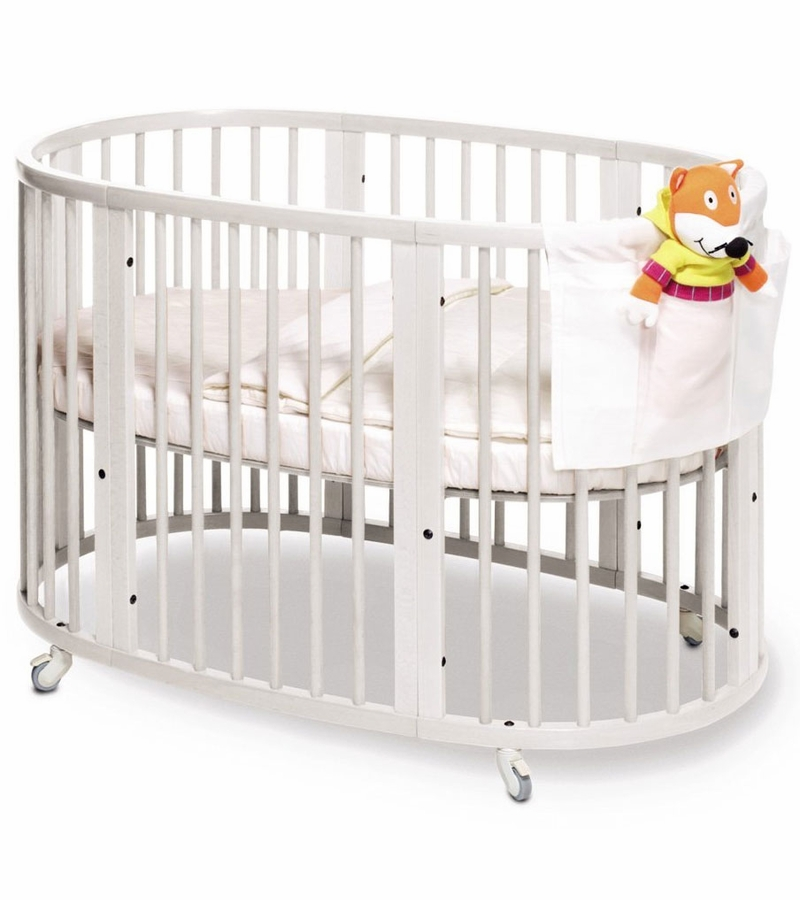 stokke sleepi crib white. Black Bedroom Furniture Sets. Home Design Ideas