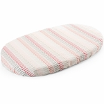 Stokke Sleepi Fitted Sheet - Coral Straw