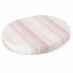 Stokke Sleepi Mini Fitted Sheet - Coral Straw