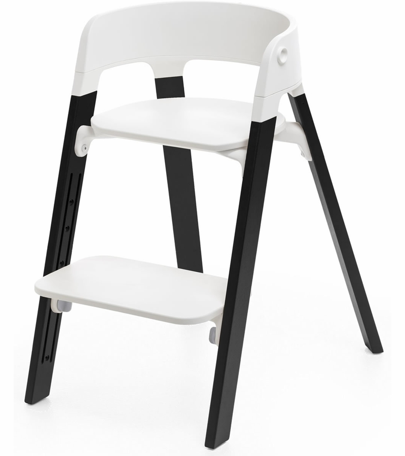 stokke steps stuhl stokke steps chair stokke steps bouncers highchairs at winstanleys. Black Bedroom Furniture Sets. Home Design Ideas
