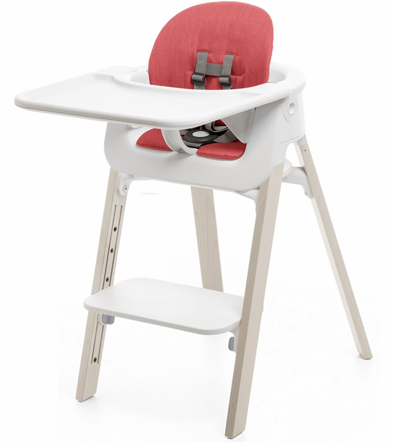 ... Stokke Steps High Chair. ITEM# STPCMPLTCSHN WHTWSHRED