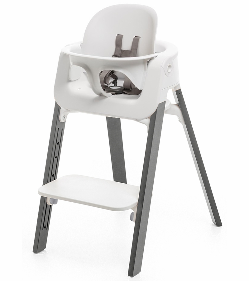 Stokke Steps High Chair White Storm Grey