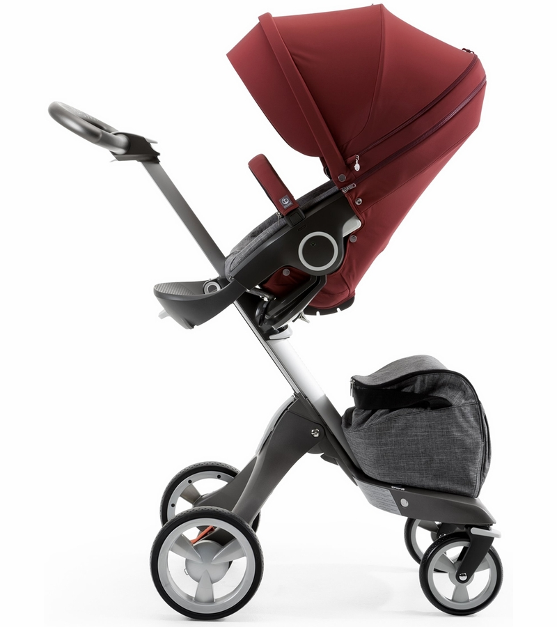 stokke stroller seat style kit burgundy. Black Bedroom Furniture Sets. Home Design Ideas